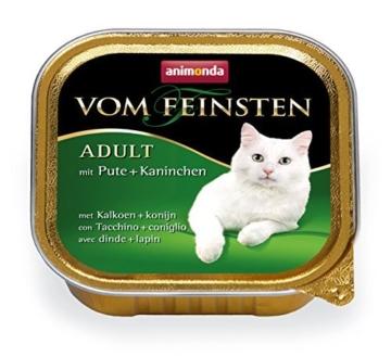 Animonda vom Feinsten 83254 Mix1 Geflügel-Kreationen 32 x 100 g – Katzenfutter -