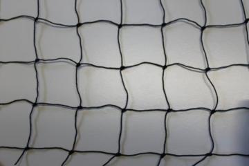 Katzennetz Katzenschutznetz – schwarz – Masche 5 cm – Stärke: 1,2 mm – Breite: 2,00 m Meterware -