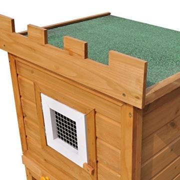vidaXL Kaninchenstall Hasenstall Kaninchenkäfig Hasenkäfig Hasenschloss Hamsterstall -