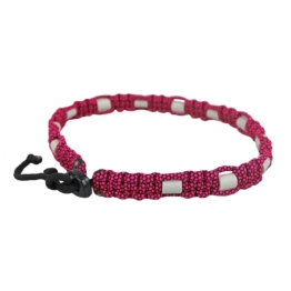 EM Keramik Zeckenfeind-Halsband, pink ca. 60 cm - 70 cm