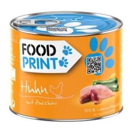 Foodprint Adult Huhn mit Zucchini 6x200g