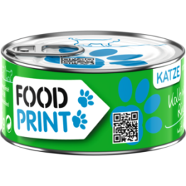 Foodprint Adult Kalb mit Kürbis 6x100g