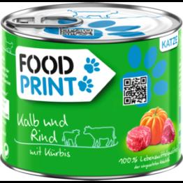 Foodprint Adult Kalb mit Kürbis 6x200g