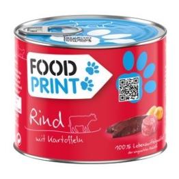 Foodprint Adult Rind mit Kartoffel 6x200g