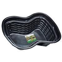 Heissner B1001-00 PE-Fertigbecken 1000 Liter  224 x 150 x 70 cm nierenförmiges Teichbecken für Ihren Gartenteich -