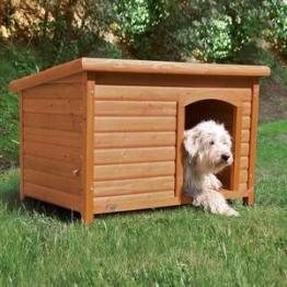 Hundehütte Natura mit Flachdach M-L