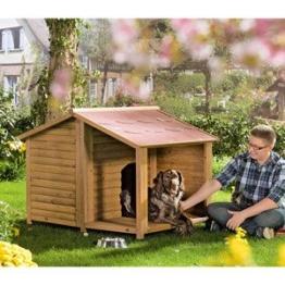 Hundehütte Natura mit Terrasse L