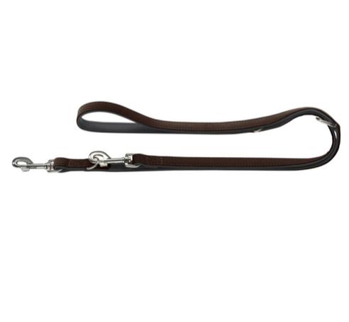 Hunter verstellbare f hrleine softie braun schwarz 200 cm for Teichfische schwarz