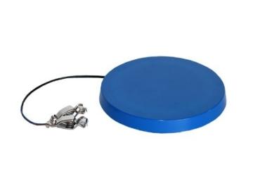 Tränkenwärmer (flach) 3113100 240mm, 12V, 19W, Anschlusskabel mit Batterieklemmen, Kunststoff blau -