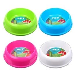 3er Pack S/O Fressnapf 900ml Fress Napf Schüssel Trinknapf für Hunde oder Katzen Pink , Weiß , Grün, Blau -