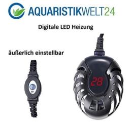 75 Watt digitale Aquarium Heizung bis 200l Aquarien, Heizstab, Heizer, Regelheizer, Süß & Meerwasser -