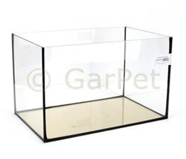Aquarium Becken rechteckig standard Größen Glasbecken Glas Aquarienbecken (40x25x25) -