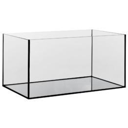 Aquarium Glasbecken 40x25x25 cm, 3 mm, rechteck, 25 Liter Becken -