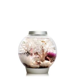 Baby biOrb Kugel Aquarium 15 l – Silber – Design Komplett Aquarium 15 Liter -