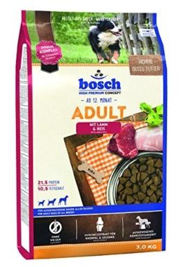 bosch Hundefutter Adult Lamm & Reis 3 kg -