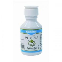 Canina Pharma PETVITAL Catlax-Gel 100 ml, Katzenpflege, Tierpflege -