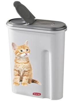 Curver 03903-P82-00 Pet-Futter Container 25 x 10.5 x 30.5 cm, 1.5 kg -