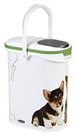 Curver 03904-P70-00 Pet-Futter Container 4 kg, 19.2 x 29.5 x 34.8 cm, 10 L -