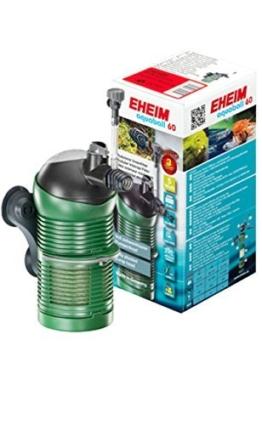 Eheim 2401020 Innenfilter aquaball 60 mit Filterpatrone und Mediabox -