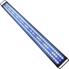Etime LED Aufsetzleuchte IP67 Aquarium Aquariumlampe Beleuchtung für 120-140cm Aquarium (120-140cm) -