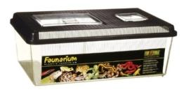 Exo Terra Faunarium flach groß - Allzweckbehälter für Reptilien, Amphibien, Mäuse und Insekten -