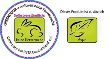 Greendoor Plagegeister Abwehr mit kalt gepresstem BIO Neemöl, 100ml gebrauchsfertig gemischt mit Pipette, Schutz gegen Flöhe, Milben und Zecken ab, für Hunde, Katzen, Pferde, Nager, 100% natürliche Tierpflege aus der Naturkosmetik Manufaktur Greendoor -