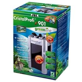 JBL 60211 Außenfilter für Aquarien von 90 - 300 Litern, CristalProfi e 901 greenline -
