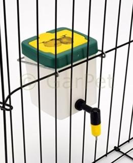 Küken Nager Hasen Kaninchen Hühner Geflügel Nippel Wasser Tränke Trinkflasche (500 ml) -
