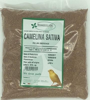Leindotter Sativa GR. 500–Verwendung Tierzucht -