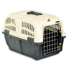 """Nobby 72126 Transportbox für mittlere und große Hunde """"Skudo 3 Iata"""" 60 x 40 x 39 cm -"""