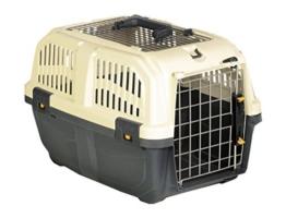 """Nobby 72135 Transportbox für kleine Hunde und Katzen """"Skudo 2 Open"""" 55 x 36 x 35 cm -"""
