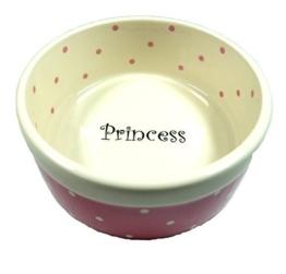 PeSoBo Fressnapf 15 cm Trinknapf rosa Hundenapf Keramik Keramiknapf Napf Wassernapf -