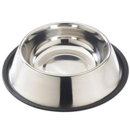 Pet Cuisine Edelstahlnapf Hundenapf Katzennapf Rutschfest Futternapf Trinknapf Wassernapf 18cm Gr.2 -