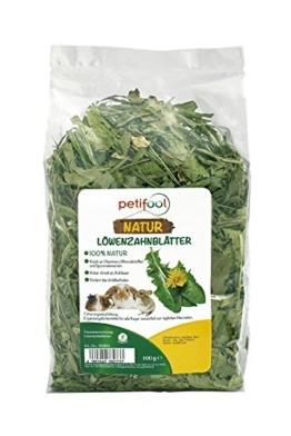 """petifool Nager-Einzelfutter """"Löwenzahnwurzeln"""", natürliche und gesunde Barf Tiernahrung, 1er Pack (1 x 200 g) -"""