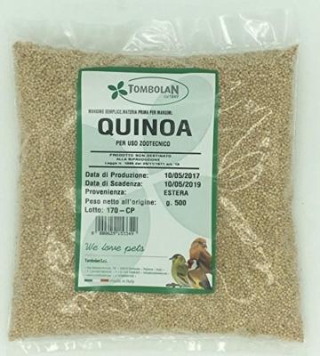 Quinoa GR. 500–Verwendung Tierzucht -