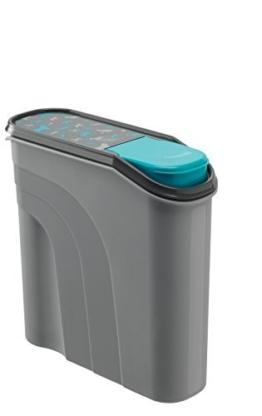 Rotho Aufbewahrungsbox für Tierfutter aus Kunststoff (PP) - Trockenfutterbehälter für Hunde, Katzen, Vögel, Fische und andere Kleintiere -