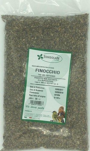 Semi-Fenchel GR. 500–Verwendung Tierzucht -