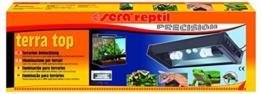 sera 32028 reptil terra top eine Terrarien Aufsatzleuchte mit Tag- und Nachtbeleuchtung -