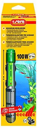 sera 8720 Regelheizer 100W (für 100 Liter) Qualitätsheizer mit schockresistentem Quarzglas, Präzisions-Sicherheitsschaltung und Sicherheits-Protector -