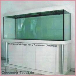 TAB Aquarium- Kombination mit Beleucht./ Schrank / Aquarium 200x80x80cm / 1280L. / Glas 15mm / 2x80 Watt -