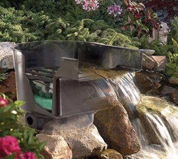 Teich Wasserfall 43cm breit incl.Filtersystem Bachlauf Teichfilter -