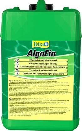Tetra Pond AlgoFin (zur effektiven und sicheren Vernichtung von hartnäckigen Fadenalgen und anderen Algen im Gartenteich), 3 Liter Flasche -