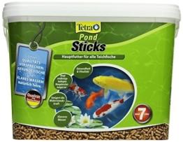 Tetra Pond Sticks (Hauptfutter für alle Gartenteichfische in Form von schwimmfähigen Sticks), 7 Liter Eimer -