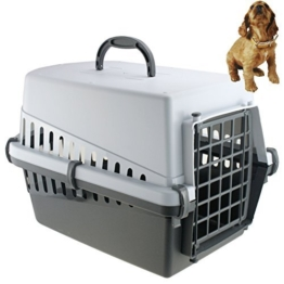 Tier Transportbox Transportkäfig Transportkorb Tiertransportbox Tierbox Katze Welpe Hund -