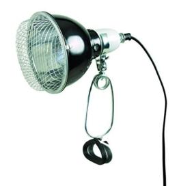 Trixie 76070 Reflektor-Klemmleuchte mit Schutzgitter, 14 x 17 cm -