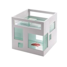 Umbra 460410-660 Fishhotel Aquarium, weiß -