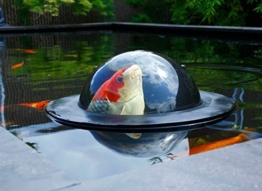 Velda Large Floating Fish Dome -