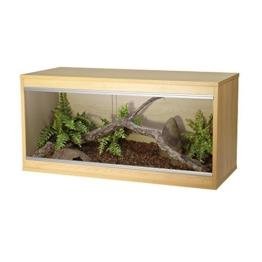 Viv Exotic Repti-Home Terrarium für Reptilien, Buchenholz -