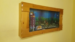 Wandaquarium- Side Wave 130, Panorama Aquarium - Wall Aquarium -