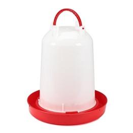 15 Liter Kunststoff Stülptränke Hühnertränke Trinknapf Geflügeltränkeeimer -